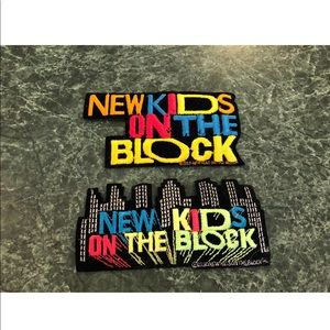 Other - Vintage Lot Of (2) New Kids On The Block Patches